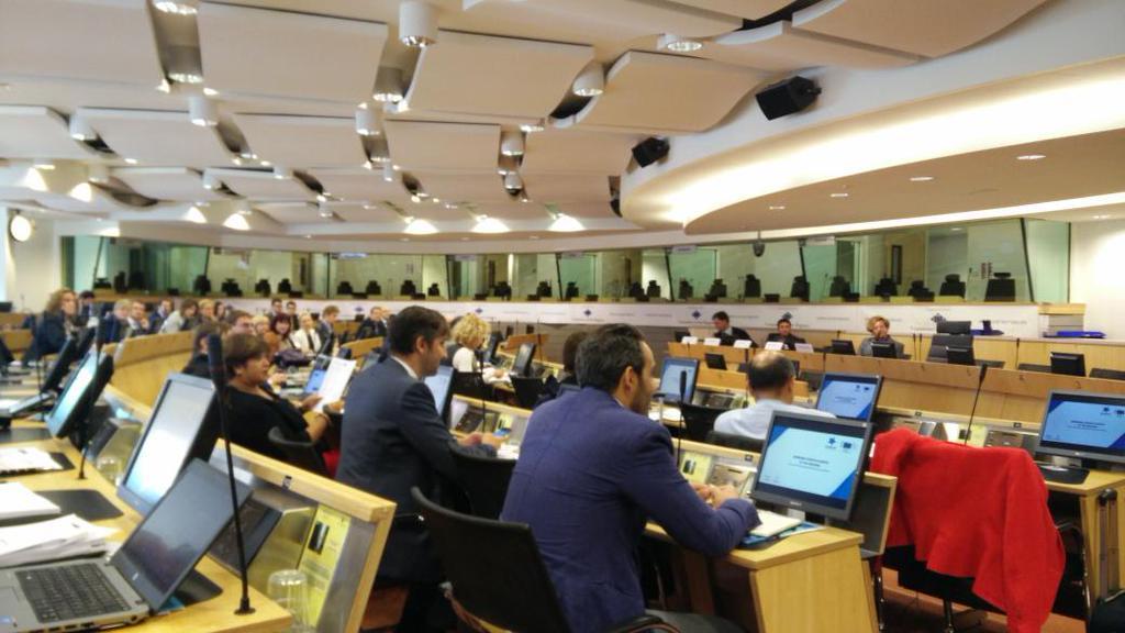 Startup Europe meeting