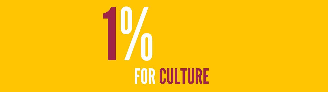 1% for Culture Campaign