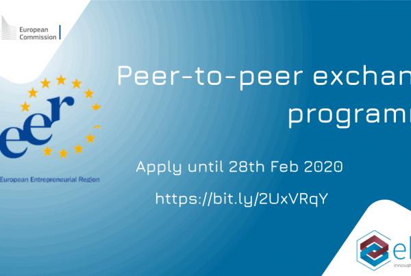 European Entrepreneurial Region (EER) - Peer-to-Peer Exchange Programme