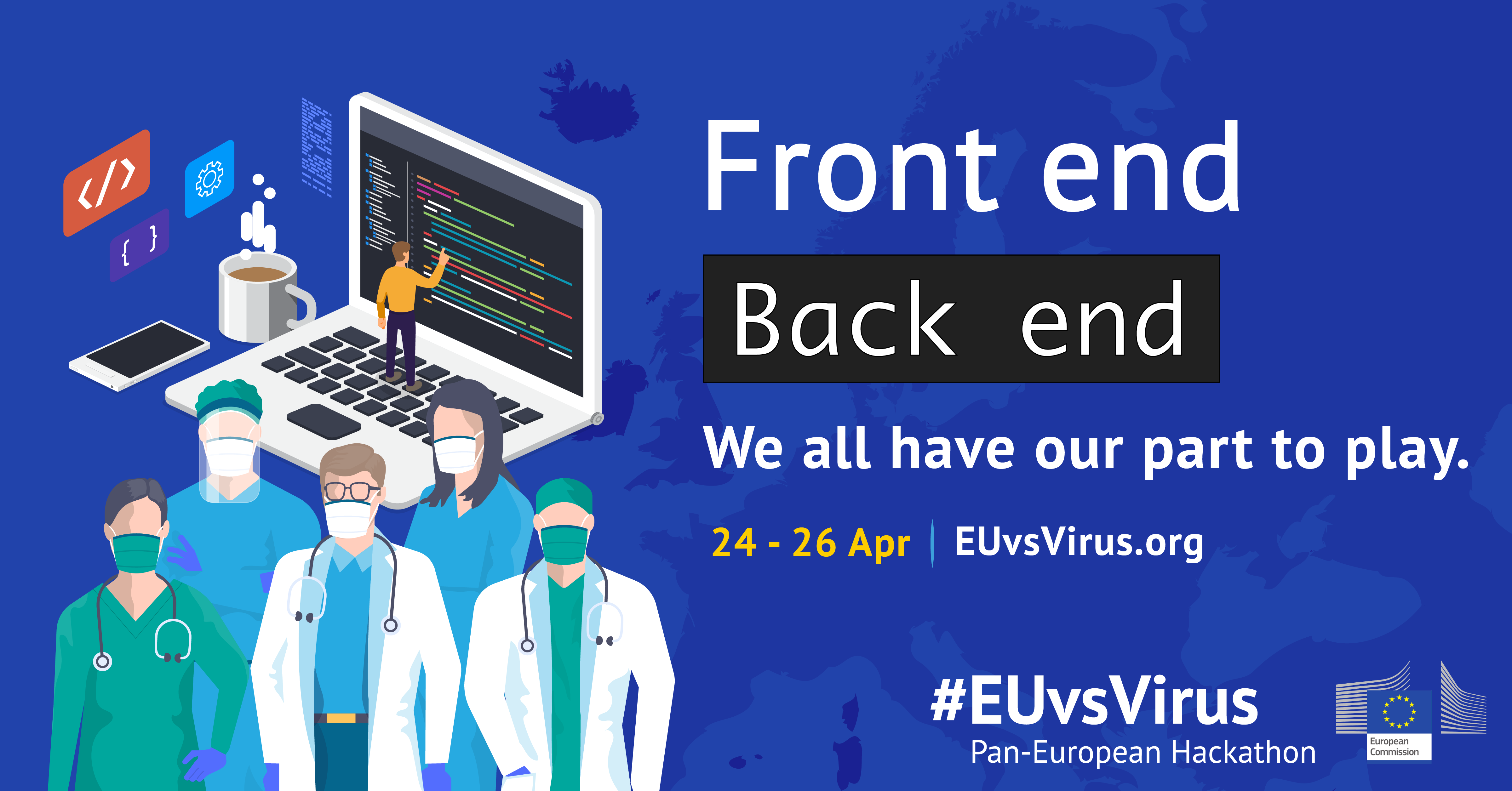 EUvsVirus hackathon EU Commission