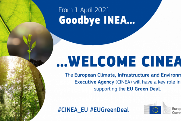 CINEA will support the European Green Deal