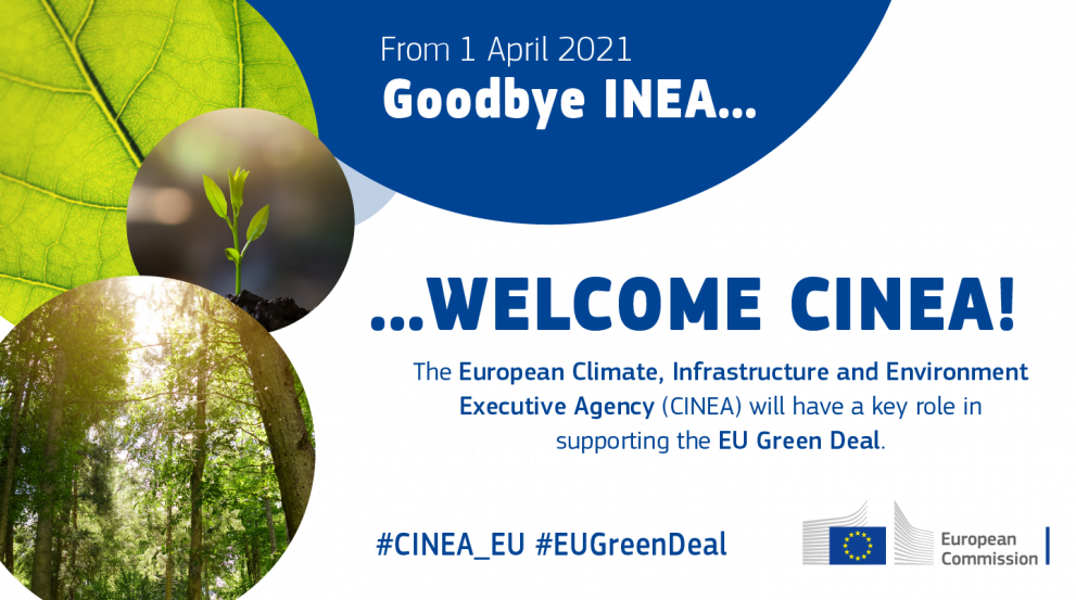 CINEA will support the European Green Deal