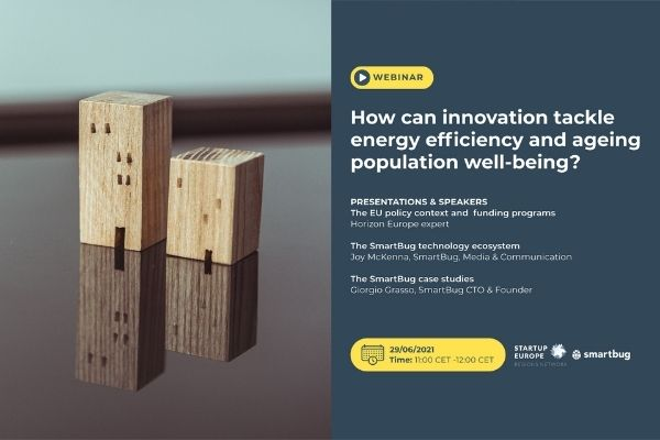 How can innovation improve energy efficiency and ageing population well-being?